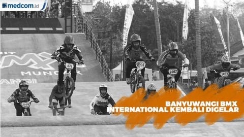 Genjot Pariwisata, Banyuwangi BMX International Kembali Digelar