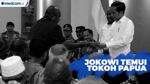 Temui Tokoh Papua, Jokowi Harap Wamena Kembali Normal
