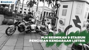 Dukung Kendaraan Listrik, PLN Resmikan SPKLU di 4 Kota