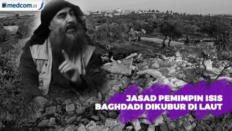 Jasad Pemimpin ISIS Abu Bakr al-Baghdadi Dikuburkan di Laut
