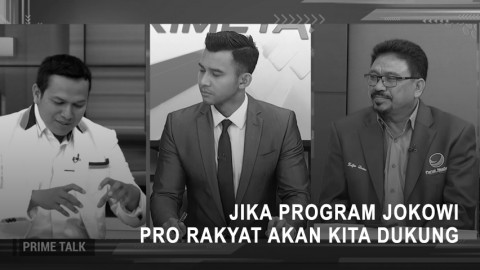 PKS: Jika Program Jokowi Pro Rakyat Akan Kita Dukung