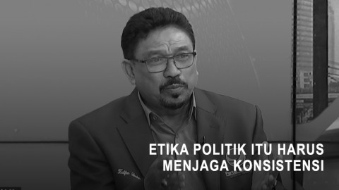 NasDem: Etika Politik Itu Harus Menjaga Konsistensi