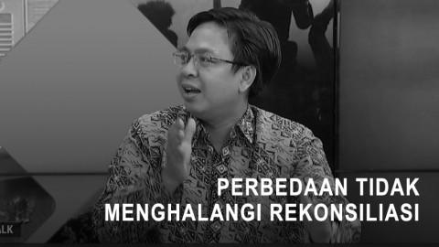 Burhanuddin Muhtadi: Perbedaan Tak Halangi Rekonsiliasi