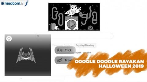 Google Doodle Rayakan Halloween 2019