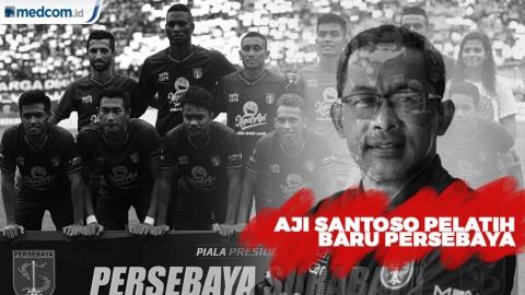 Persebaya Surabaya Kenalkan Aji Santoso sebagai Pelatih Baru