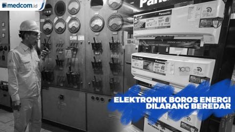 Elektronik Boros Listrik Dilarang Beredar 2025