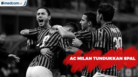 AC Milan Tundukkan SPAL 1-0