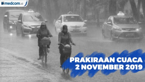 Sebagian Wilayah Jakarta Diprediksi akan Turun Hujan