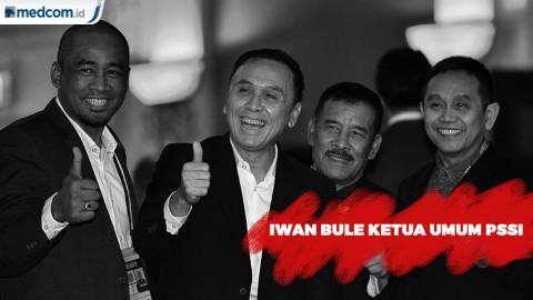 Iwan Bule Jadi Ketua Umum PSSI, Iwan Budianto dan Cucu Soemantri Jadi Wakil