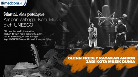 Bahagia Glenn Fredly Rayakan Ambon Jadi Kota Musik di Tur Sewindu Tulus