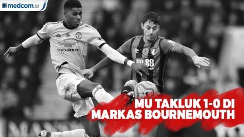 MU Takluk 0-1 di Markas Bournemouth