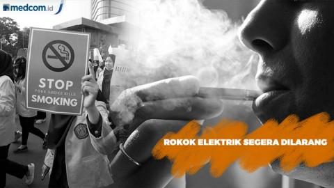 Larangan Penjualan Rokok Elektrik di Tahun 2020