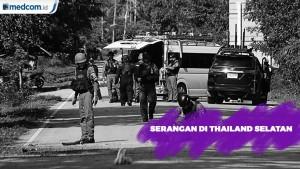 Serangan Pemberontakan di Thailand Selatan Tewaskan 15 Orang