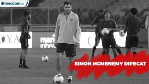Simon McMenemy Resmi Dipecat dari Kursi Pelatih
