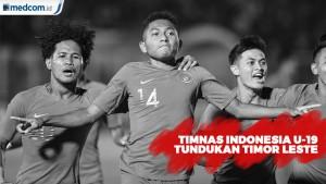 Timnas Indonesia U-19 Tundukkan Timor Leste