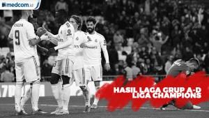 Hasil Lengkap Liga Champions, 3 Tim Pastikan Lolos 16 Besar