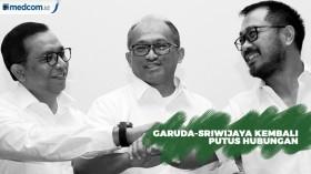 Garuda-Sriwijaya Kembali Putus Hubungan
