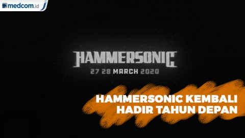 Hammersonic Hadir Tahun Depan Bersama Slipknot