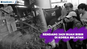 Rendang Hadir di International Food Expo Korsel