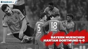 Bayern Muenchen Hantam Dortmund 4-0 di Allianz Arena