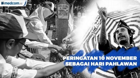 Keberagaman Masyarakat Peringati Hari Pahlawan