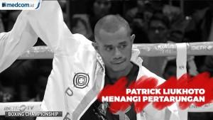 Patrick Liukhoto Menangi Pertarungan Berdarah Melawan Luis Lumoly