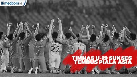 Timnas U-19 Indonesia Berhasil Lolos ke Piala Asia 2020