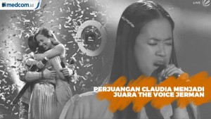 Sempat Gagal, Inilah Perjuangan Claudia Juara The Voice Of Germany