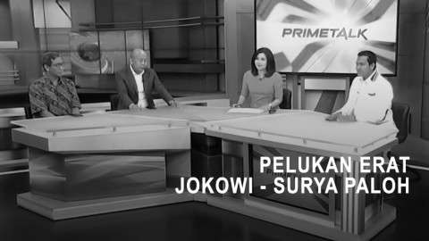 Highlight Prime Talk - Pelukan Erat Jokowi - Surya Paloh (2)