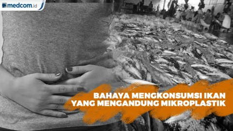 Ini Bahaya Mengkonsumsi Ikan yang Mengandung Mikroplastik