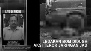 Pengamat: Ledakan Bom Diduga Aksi Teror Jaringan JAD