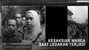 Kesaksian Warga Saat Ledakan di Polrestabes Medan Terjadi