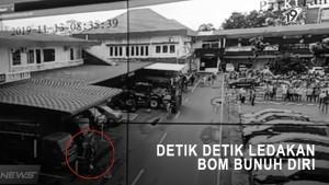 Detik-detik Ledakan Bom Bunuh Diri di Polrestabes Medan