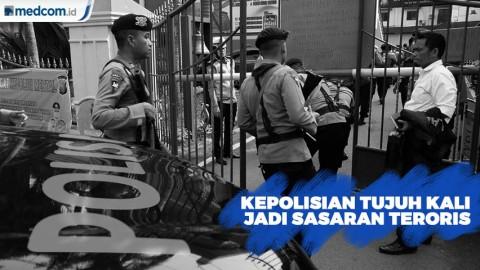 Markas Kepolisian Tujuh Kali Jadi Sasaran Teroris