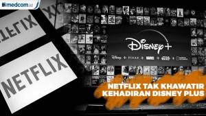 Netflix Tak Khawatir Dengan Kehadiran Disney Plus