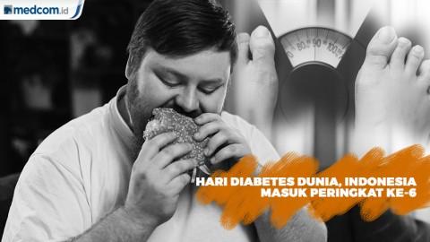 Hari Diabetes Sedunia, Indonesia Masuk Peringkat ke-6