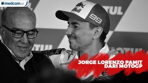 Alasan Pensiun Jorge Lorenzo dari MotoGP