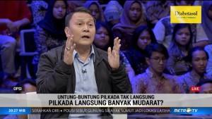 Soal Pilkada, Mardani Ali Sera Ajak Kemendagri Duduk Bareng