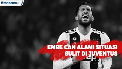 Emre Can Alami Situasi Sulit di Juventus