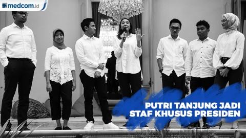 Jadi Staf Khusus Presiden Termuda, Inilah Profil Putri Tanjung