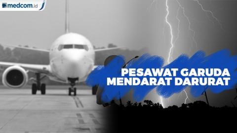 Penumpang Dilarang Turun Saat Pesawat Garuda Mendarat Darurat di Halim