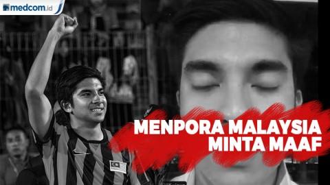 Menpora Malaysia Akhirnya Minta Maaf Soal Pengeroyokan WNI
