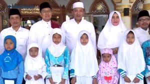 Bupati Sampang Santuni Anak Yatim dalam Rangka Acara Safari Khazanah Islam