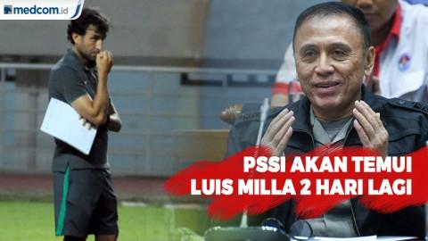 PSSI akan Temui Luis Milla 2 Hari Lagi