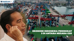 Jokowi Sebut RI Peringkat 3 Negara G20
