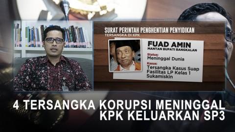 Highlight Primetime News -  4 Tersangka Korupsi Meninggal, SP3 KPK untuk Siapa?