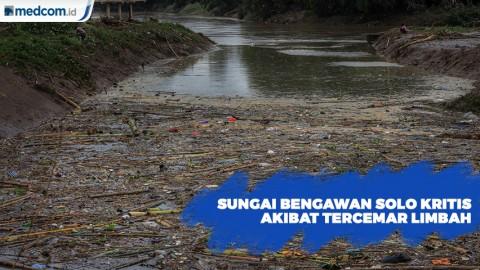 Sungai Bengawan Solo Kritis Akibat Tercemar Limbah Perusahaan