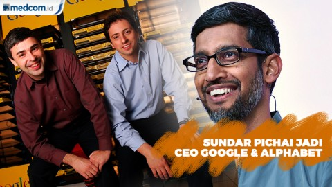 Sundar Pichai Jadi CEO Perusahaan Induk Google