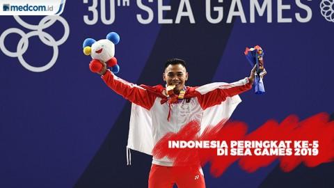 Klasemen Sementara SEA Games 2019: Indonesia Peringkat Ke-5