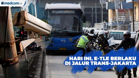 Sistem E-TLE di Jalur Trans-Jakarta Berlaku Hari Ini